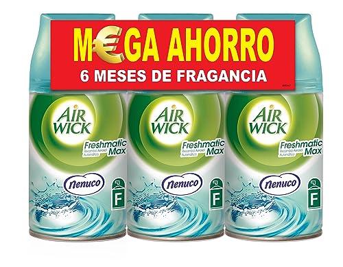 Air Wick Freshmatic recambio fragancia Nenuco Pack de 3