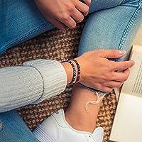 Made by Nami Boho Surfer-Armband 2-er Set Damen & Herren - Handmade Strand Festival Accessoires - Ethno Hippie Style…