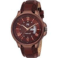 Redux RWS0200S Analog Brown Linear Designer Dial Men's & Boy's Watch