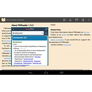 MegaDict Offline Popup Dictionary: Amazon co uk: Appstore for Android