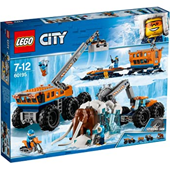 LEGO City Arctic Expedition Base Mobile di Esplorazione Artica, 60195