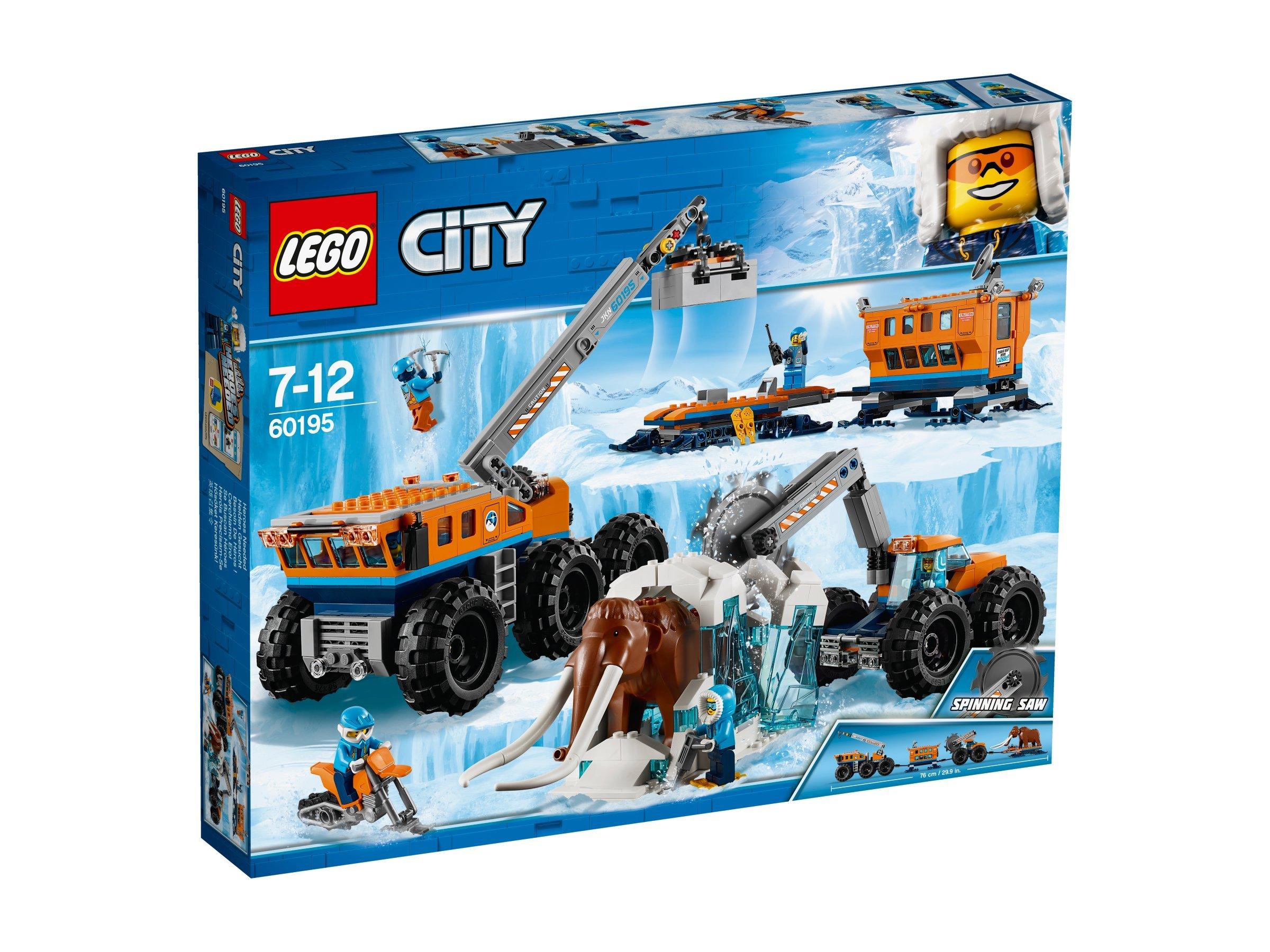 LEGO Base Mobile Di Esplorazione Artica Costruzioni Piccole Gioco o 562 1 spesavip
