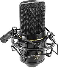 MXL Mics 770 Condenser Cardioid Microphone (Black)