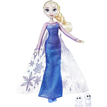 Hasbro Disney Frozen-B9201ES0 Bambola Northern Lights Elsa & Snowgie, B9201ES0