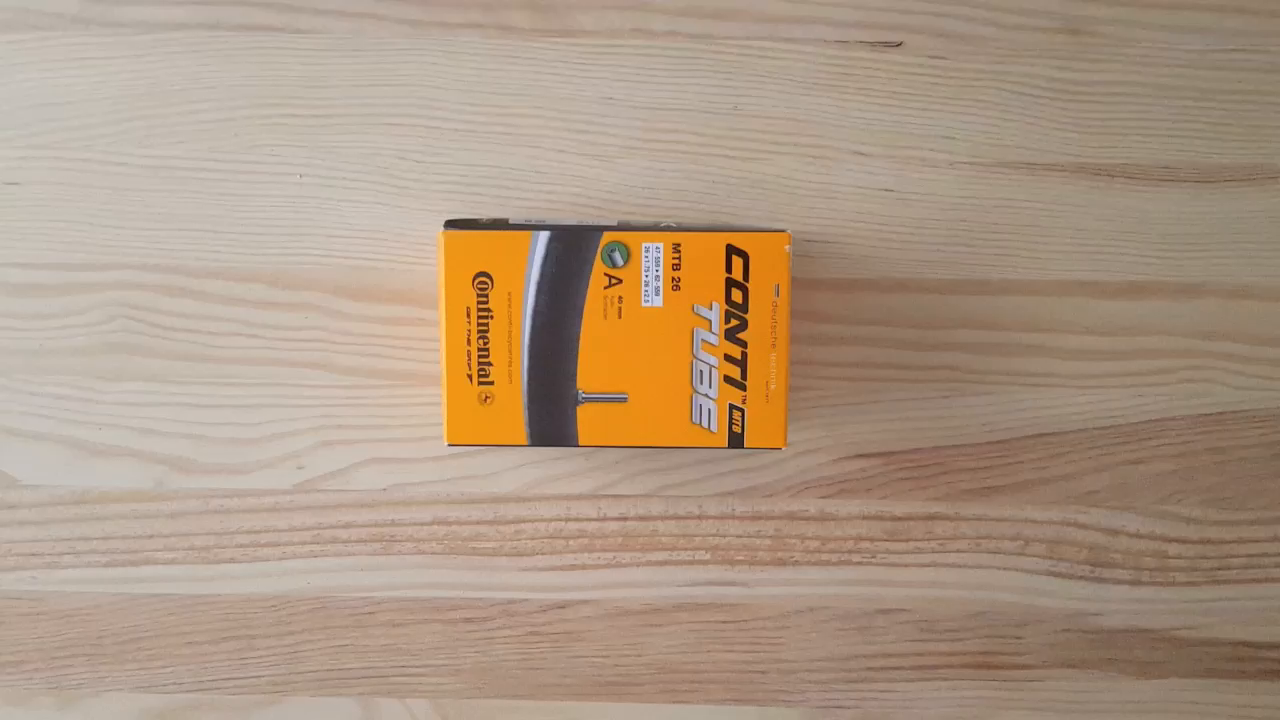 Continental Tube - Cámara de ciclismo MTB 26 a40 (0181611): Amazon ...