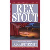 Homicide Trinity (A Nero Wolfe Mystery Book 36) (English Edition)