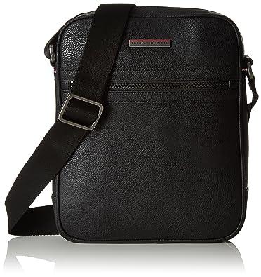 Tommy Hilfiger Essential Reporter, Men's Shoulder Bag, Blau (Black ...