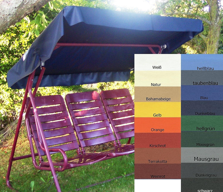 Awesome Amazon.de: Sonnendach, Schaukeldach, Ersatzdach Hollywoodschaukel, Nach Maß  Passt überall Farbe Blau (mit Umnähten Kanten) Design Inspirations