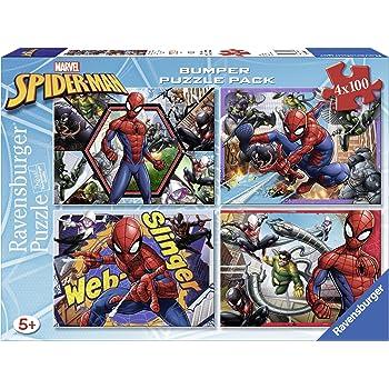 Ravensburger Italy 06914 9 - Quattro Puzzle di Spiderman