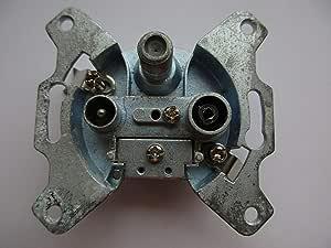Astro Gut 300 Aluminium Steckdose 5 5 Cm Baumarkt