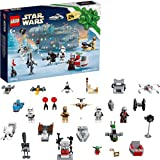 LEGO 75307 Star Wars Adventskalender 2021 Bausatz Mandalorianer Kinder ab 6 mit Baby Yoda Minifigur