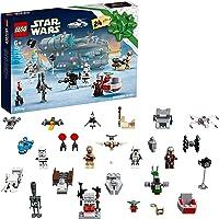 LEGO 75307 Star Wars Calendrier de l'Avent 2021 Jouet Enfants 6 Ans, The Mandalorian Idée de Cadeau pour Noël, Figurine