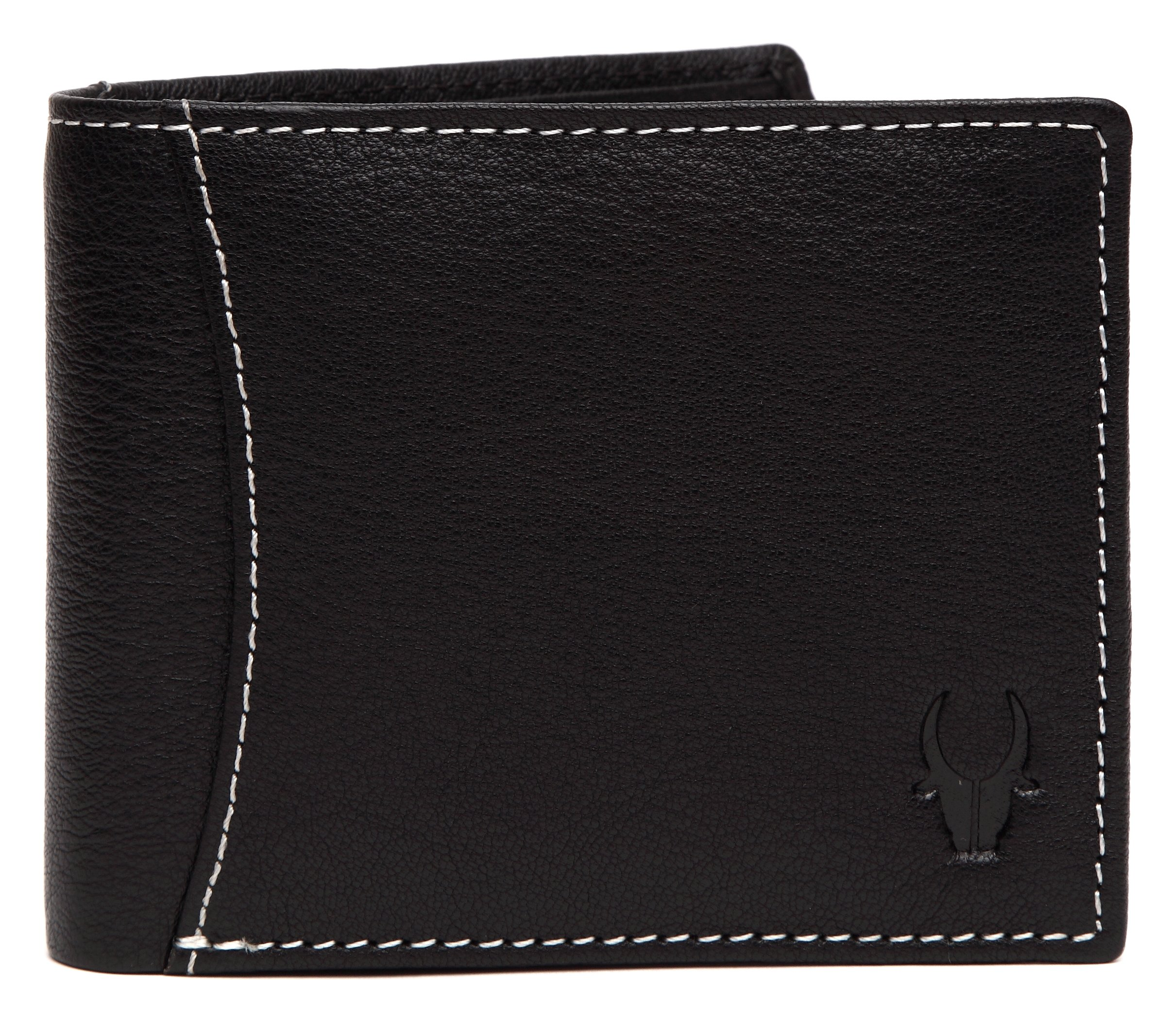 WildHorn Black Men's Wallet (WH1255)