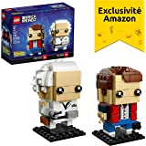 LEGO Brickheadz - Marty McFly & Doc Brown - 41611 - Jeu de Construction