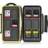 Ares Foto® Skyddslåda, Lagring, Fall, Väska, Memory Card Case, Card Safe för 12 SD-kort (12 x SD Cards)