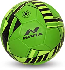 Nivia Blade Machine Stitched Football - Green