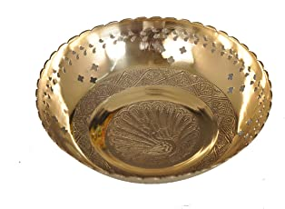 Nutristar Fruit Bowl Handcrafted 6 inches (15 cm) in Diameter x Height 5 cm
