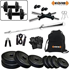 Kore K-20kg Combo 43-SL Home Gym and Fitness Kit