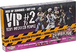 Zombicide Box Of Zombies Set 10 Very Infected People 2 Vip 2 Spielzeug