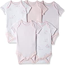 Mothercare Unisex Bodysuit (Pack of 5)