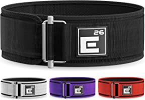 Element 26 Self-Locking Weight Lifting Belt | Premium Weightlifting Belt for Serious Crossfit, Power Lifting, and...
