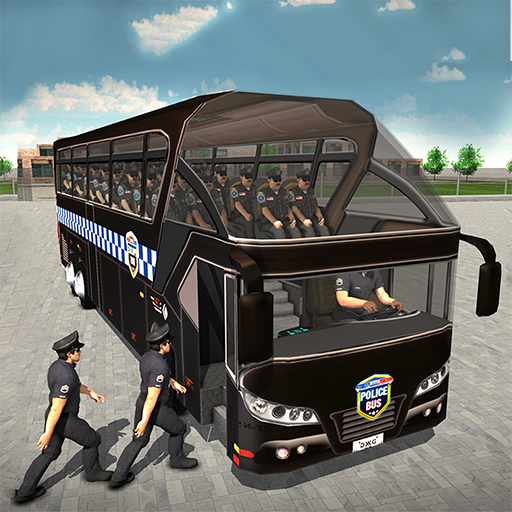 Simulator Prison Transporter-Spiel 2018 3D fährt ()
