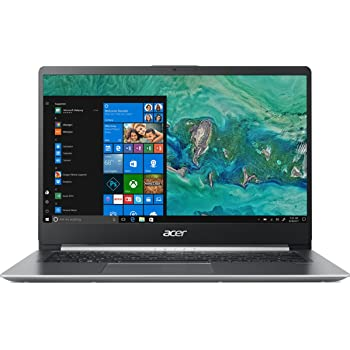 "Acer Swift 1 SF114-32-P56T Notebook da 14"", Processore Intel Pentium Silver N5000, Ram 4 GB, 128 GB SSD, Display FHD Acer ComfyView IPS LED LCD, Windows 10 Home, Silver"