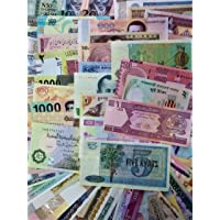 Novelty COLLECTIONS-60 World Currency Notes from Minimum 33 Countries