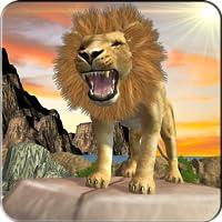 Amazon Jungle Lion Simulator 3D: le héros chasseur dure le temps survivant Tiger Warrior Revolution jeux d'aventure Mission Free For Kids 2018