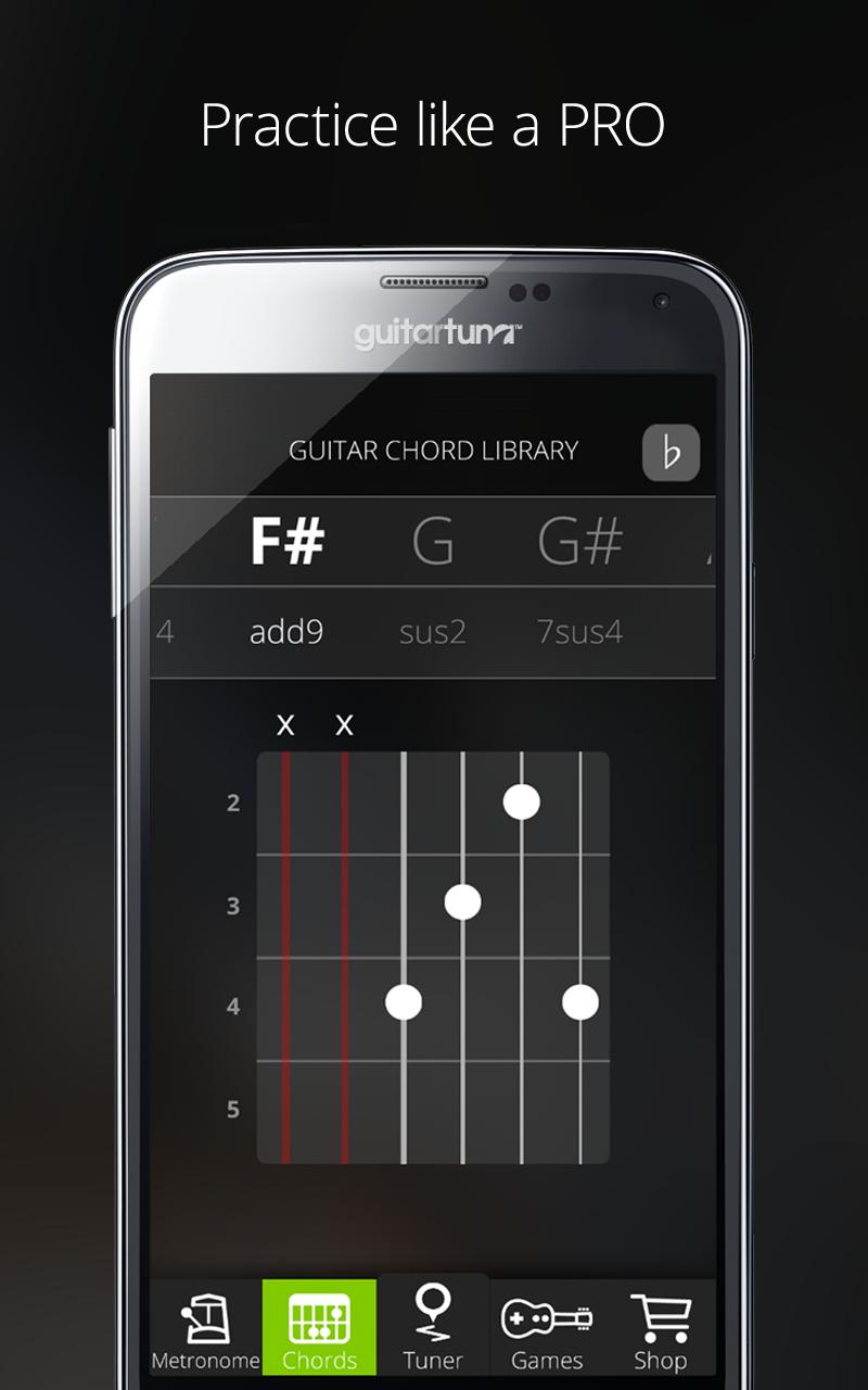 Accordeur de guitare et basse - Guitar Tuna - The Ultimate ...