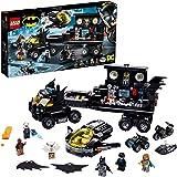 LEGO DC Mobiele Batbasis 76160 Batman Batcave bouwspeelgoed voor kinderen vanaf 6 jaar, speelset met actieminifiguren (743 on