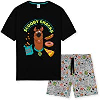 Scooby Doo Mens Pyjamas, Short PJs Set, Men's Nightwear and Lounge Wear S-XXXL
