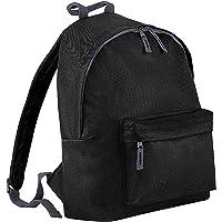 BagBase Men's BG125 agbase Fashion Backpack/Rucksack (18 litres) (One Size) (Black)