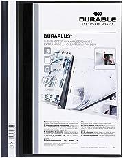 DURABLE Hunke & Jochheim Angebotshefter DURAPLUS®, strapazierfähige Folie, DIN A4, schwarz