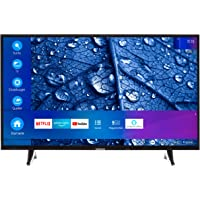 MEDION P14026 97,8 cm (39 Zoll) HD Fernseher (Smart-TV, HD Triple Tuner, DTS Sound, Netflix, Prime Video, WLAN, PVR…
