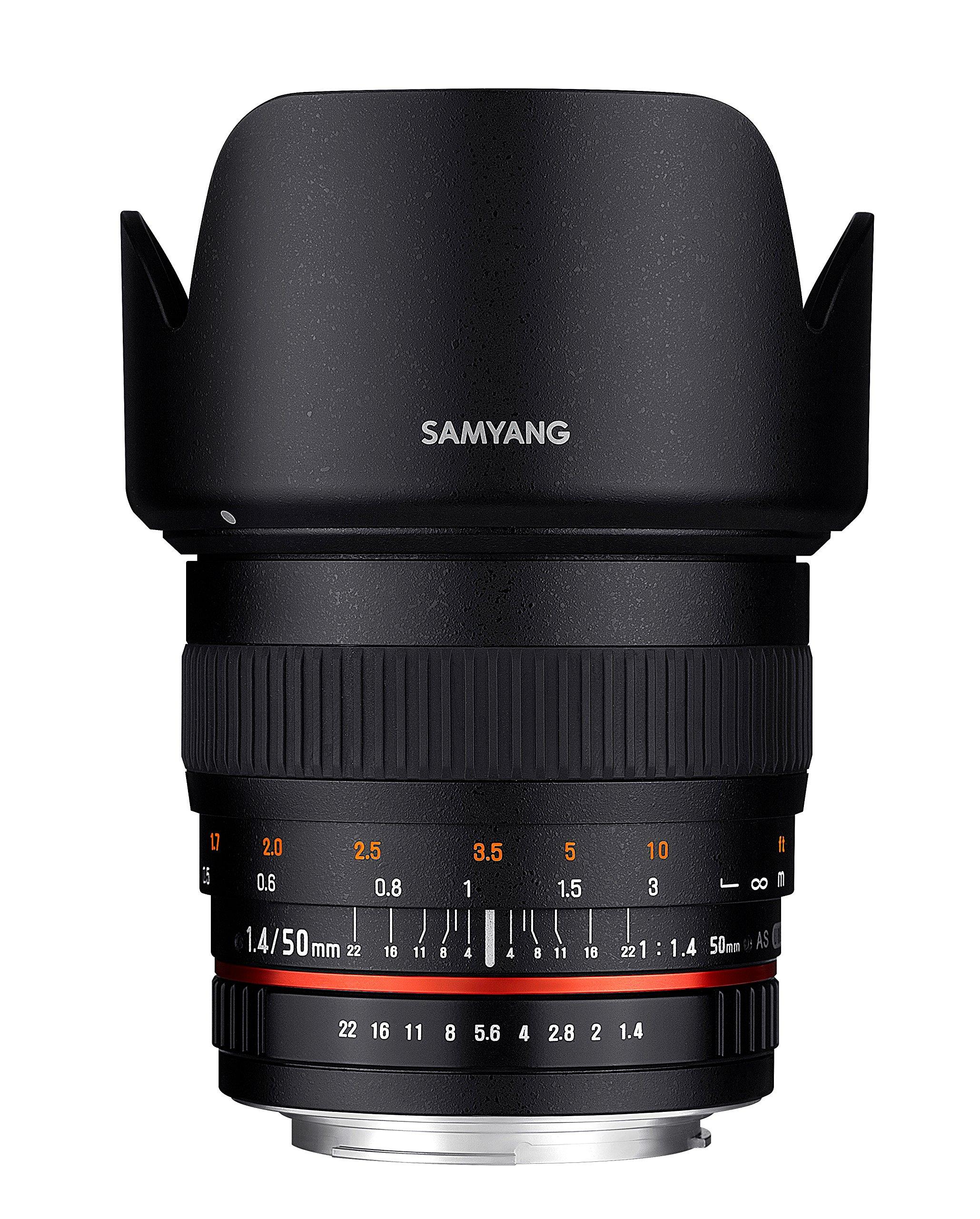 Samyang 50mm F1.4 AS UMC SLR Standard lens Nero