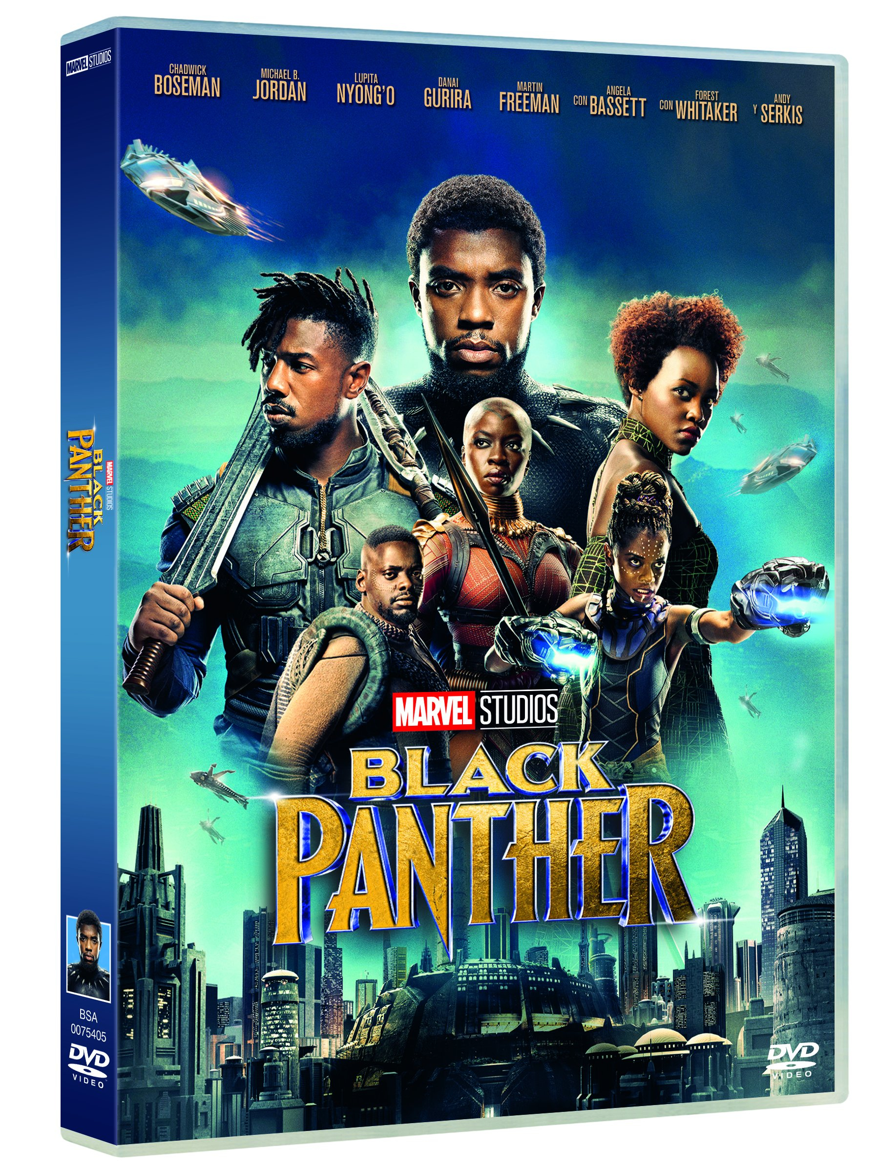 910fP0lrTSL - Black Panther [DVD]