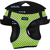 Emily Pets Dog Harness - All Weather Mesh, Step in Adjustable Harness for Small and Medium Dogs (Small, Green)
