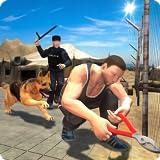 Border Police Hundejagd Abenteuer Simulator 3D: Vegas City Gangster Verbrechen im Gefängnis Flucht Überleben Abenteuer Sim Games Free For Kids 2018