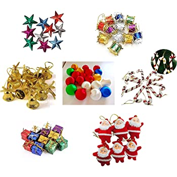 Buy Kriwin 70 Pcs Small Mini Christmas Tree Decorations Set Balls