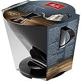 Melitta Porte-filtre, Pour Filtre à Café 1x6, Compatible avec 1 Verseuse ou 2 Tasses, Plastique, Pour Over, Noir