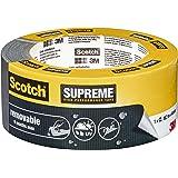 3M Scotch Ruban Toilé de Réparation Enlevable 18,2m x 48mm 1 Rouleau Gris