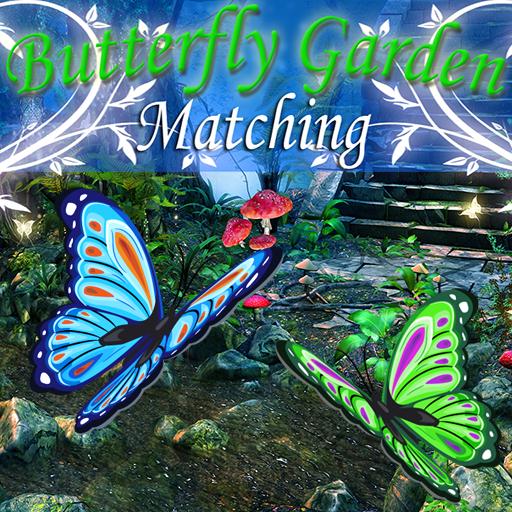 Butterfly Garden Matching (Scary Object-spiele Kostenlose Hidden)