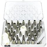 DE BUYER -2114.10 -coffrets 35 douilles inox+adaptateurs
