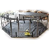 SpeedwellStar Extra Large Carpet for Pet Dog Base Heavy Duty Waterproof Liner Durable Fabric Oxford + PVC Universal Black cage non incluse