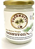 Coconutty Raw Extra Virgin Coconut Oil, 500ml - Cold Pressed, Glass Jar, 100% Natural for Hair, Skin & Cooking (500ml)