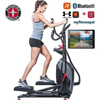 Crosstrainer mit Smartphone App Tablet-Halterung Sportstech CX608 Heimtrainer Crosstrainer