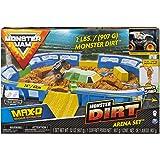 Monster Jam 1:64 Dirt Arena Playset - Sets de juguetes (Coche y carreras, 3 año(s), Niño, Interior y exterior, Multicolor, 1: