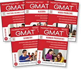Quantitative GMAT Strategy Guide Set