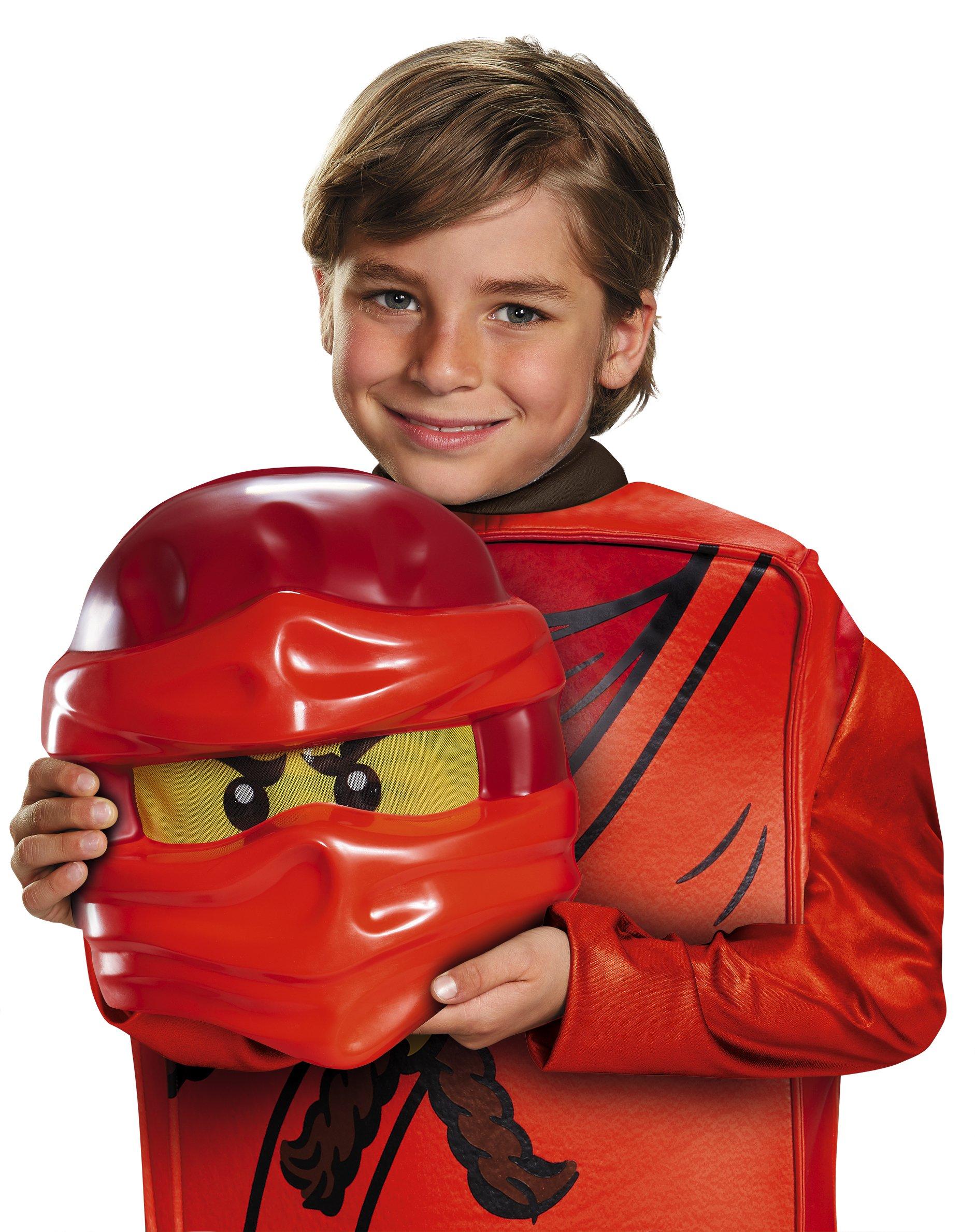 Lego Costume da Ninjago Kai, per Bambini, Taglia S, Gamma Deluxe, età 4–6Anni, Altezza ca. 120 cm -125 cm 4 spesavip